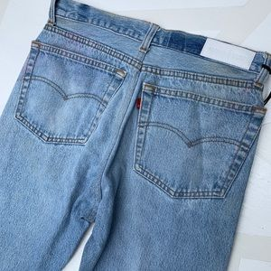 Re/Done Jeans - Re/Done Levi's High Rise Ankle Crop Jeans 27